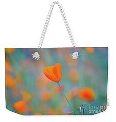 Spring Poppy Weekender Tote Bag