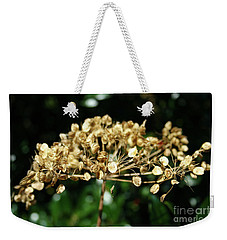 Weekender Tote Bag featuring the photograph Spring Princess Became Queen Of Autumn by Mariella Wassing