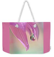 Spring Raindrop By Kaye Menner Weekender Tote Bag