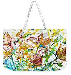 Spring Rhapsody Weekender Tote Bag by Jasna Dragun