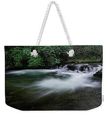 Weekender Tote Bag featuring the photograph Spring River by Mike Eingle