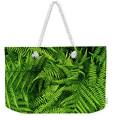 Weekender Tote Bag featuring the photograph Spring Salad by Gene Garnace