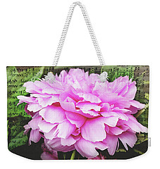 Spring Serenade  Weekender Tote Bag by Trina Ansel