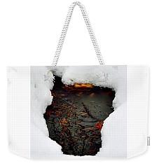 Spring Snow II Weekender Tote Bag