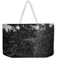Spring Snowstorm Weekender Tote Bag