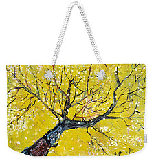 Spring Song Weekender Tote Bag by Evelina Popilian