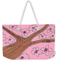 Spring Stained Glass 3 Weekender Tote Bag