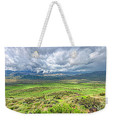 Spring Storm Moving Over The Bradshaw Weekender Tote Bag by Charles Ables
