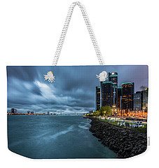 Storm Season In Detroit  Weekender Tote Bag