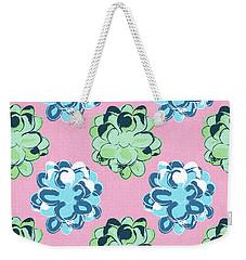 Spring Succulents- Art By Linda Woods Weekender Tote Bag by Linda Woods