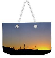 Spring Sunset Fort Mohave Az Weekender Tote Bag