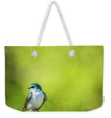 Spring Swallow Weekender Tote Bag