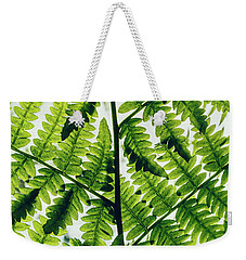 Weekender Tote Bag featuring the photograph Spring Symmetry by Gene Garnace