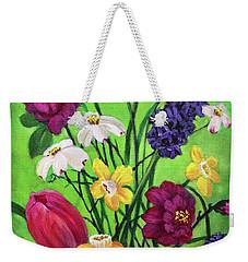 Spring Symphony Weekender Tote Bag