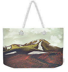 Spring Thaw Weekender Tote Bag