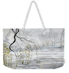 Spring Thaw On Misty Grenadier Pond Weekender Tote Bag