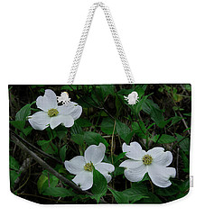 Weekender Tote Bag featuring the photograph Spring Time Dogwood by Mike Eingle