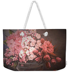 Spring Time Weekender Tote Bag by Sorin Apostolescu
