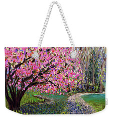 Spring Tree At New Pond Farm Weekender Tote Bag