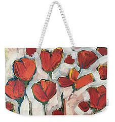 Spring Tulip Garden Weekender Tote Bag