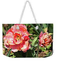 Spring Tulips Weekender Tote Bag by Trina Ansel
