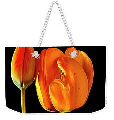 Spring Tulips V Weekender Tote Bag