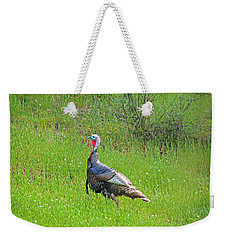 Spring Turkey Gobbler Weekender Tote Bag