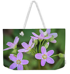 Weekender Tote Bag featuring the photograph Spring Vibe by Bill Pevlor