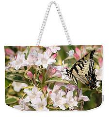 Spring Visit Weekender Tote Bag