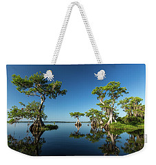 Spring Vistas At Lake Disston Weekender Tote Bag