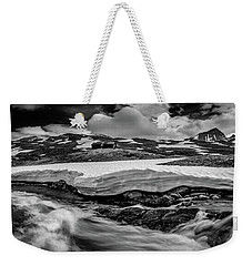 Weekender Tote Bag featuring the photograph Spring Waters by Dmytro Korol