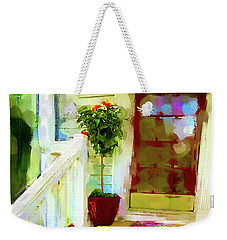 Spring Welcome Weekender Tote Bag