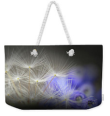 Weekender Tote Bag featuring the photograph Spring Wishes by Kim Henderson