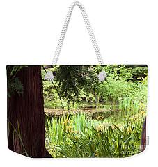 Spring Woodland Weekender Tote Bag by Victoria Harrington