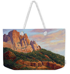 Springdale Sunset On Johnson Mountain Weekender Tote Bag