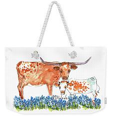 Springs Surprise Watercolor Painting By Kmcelwaine Weekender Tote Bag