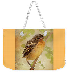 Spring's Sweet Song Weekender Tote Bag