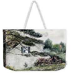 Springtime At Round Pond Maine Weekender Tote Bag