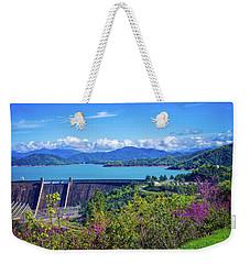 Springtime At Shasta Lake Dam Weekender Tote Bag