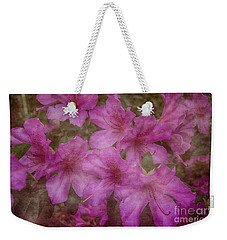 Weekender Tote Bag featuring the photograph Springtime Beauty by Judy Hall-Folde