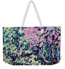 Springtime Colors Weekender Tote Bag