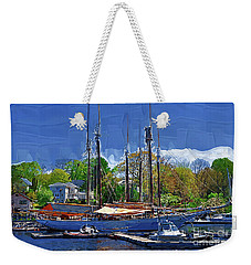 Springtime In The Harbor Weekender Tote Bag