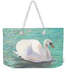 Springtime On The River Weekender Tote Bag by Elizabeth Lock