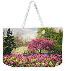 Springtime Tulips Weekender Tote Bag by Jessica Jenney