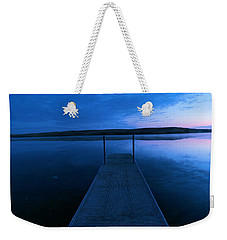 Springbrook Lake At Dawn Weekender Tote Bag