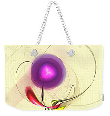 Weekender Tote Bag featuring the digital art Sprout by Anastasiya Malakhova