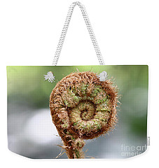 Sprout Of Ferns Weekender Tote Bag by Michal Boubin