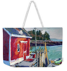 Spruce Head Island, Maine Weekender Tote Bag