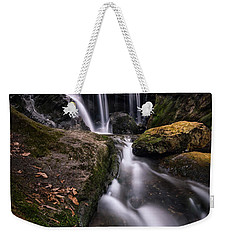 Sprucebrook Falls In Beacon Falls, Ct Weekender Tote Bag