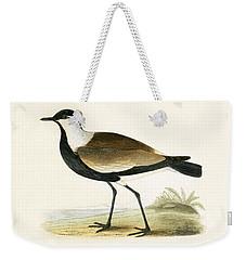 Spur Winged Plover Weekender Tote Bag